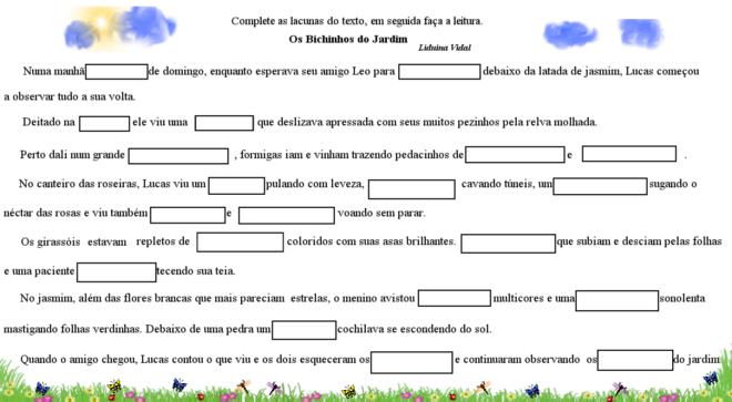 Revista Educacao Publica Texto Lacunado Uma Estrategia Que