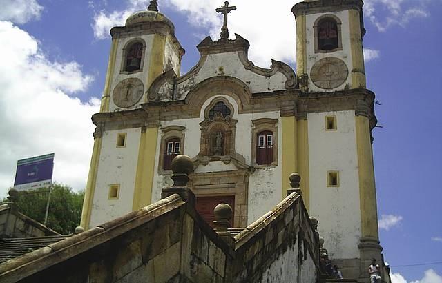 Figura  1: Igreja de Santa Efigênia dos Pretos